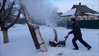 Бензиновый снегоуборщик своими руками Часть 2(Еще не законченный агрегат. В регионе не спокойная обстановка, Донбасс как ни как, нет возможности его закон..., 2015-01-05T15:30:44.000Z)