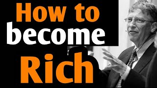 How To Become Rich | Rich Dad Poor Dad in Hindi | How to get rich in Hindi | Rich Dad Poor Dad