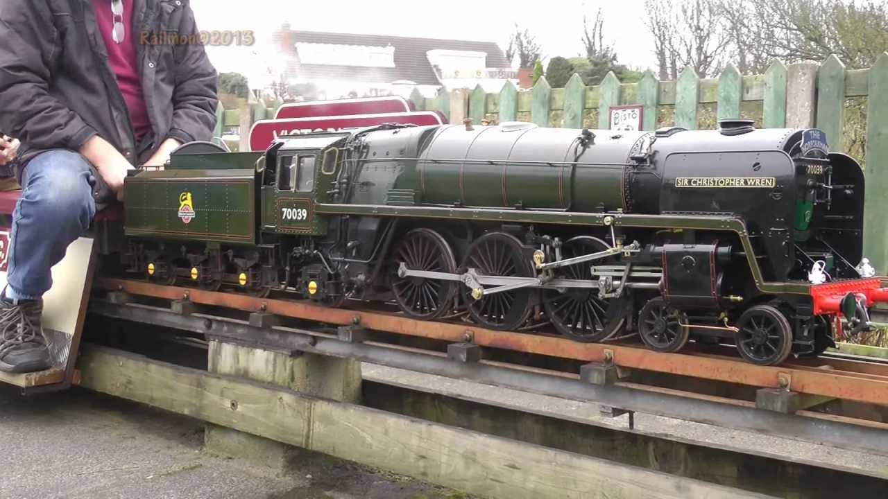 70039, Sir Chistopher Wrenn Model Steam Loco