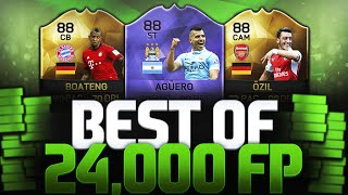 BEST OF 24,000 FIFA POINTS PACK OPENING NICE PULLS!!! FIFA 16 ULTIMATE TEAM