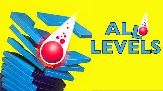 Stack Ball 3D | ALL 100 LEVELS | Walkthrough
