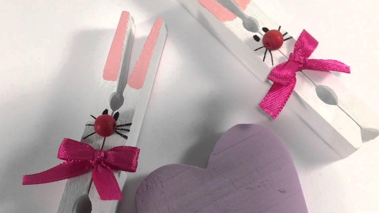 Pasqua fai da te riciclare le mollette del bucato e fare for Decorazioni oggetti fai da te