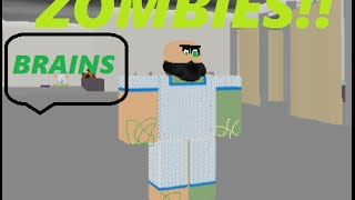 ROBLOX | Hospital Roleplay 2.0 | ZOMBIE OUTRAGE!??