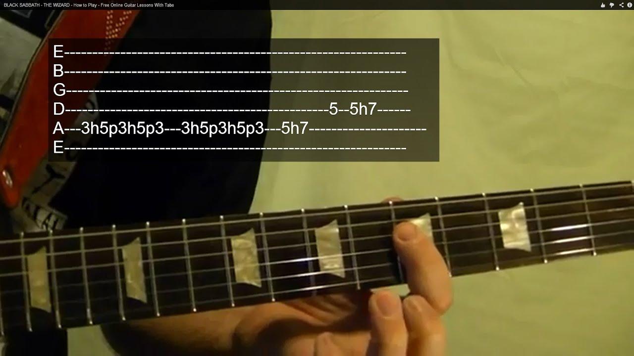 LED ZEPPELIN - When the Levee Breaks - Solo - Guitar ...