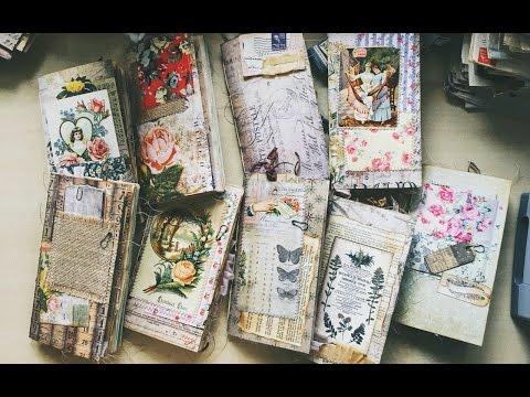 Midori Standard size Junk Journal re-stock on my Etsy