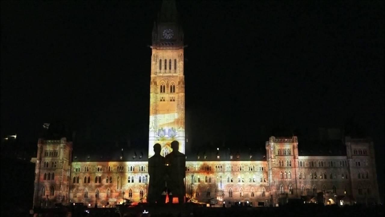 Northern Lights Parliament Hill