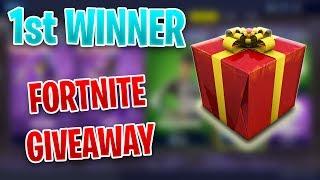 *GIVEAWAY* 1st Winner - February 21st Fortnite Item Shop