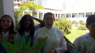 Hermana Nubia Barco, rectora de La Presentación y alumnos, felicitan a EL INFORMADOR por sus 60 años