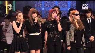 골든디스크어워즈 오프닝 2NE1 Cut