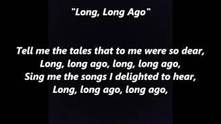 LONG LONG AGO Lyrics Words sing along Sing me songs Tell me tales Suzuki Don't sit under apple tree