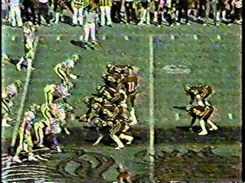 1984 South Carolina Vs Pitt 4th Qtr