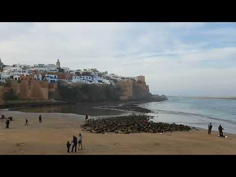 Lungomare di Rabat (Marocco)