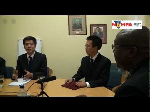 NAMPA: WHK NAMPA and Xinhua sign agreement  05 April 2013