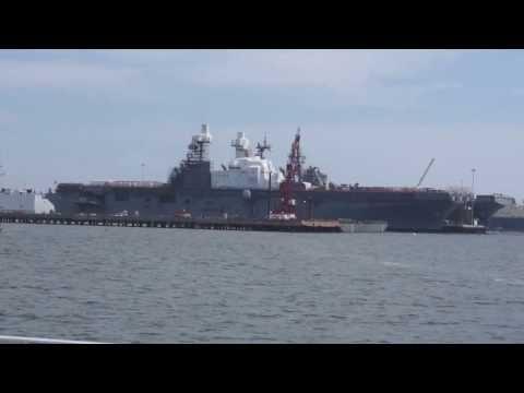 US NAVY Shipyard Cruise in San Diego bay