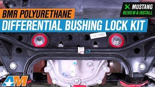 2015-2018 Mustang BMR Polyurethane Differential Bushing Lockout Kit Review & Install