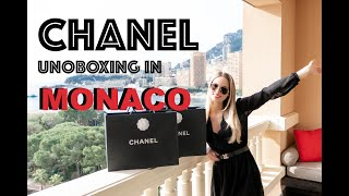 6b1813f7e162 CHANEL UNBOXING IN MONACO