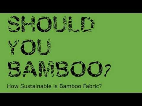 Should you bamboo?