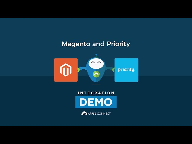 Integrate Priority ERP and Magento Ecommerce Store | APPSeCONNECT