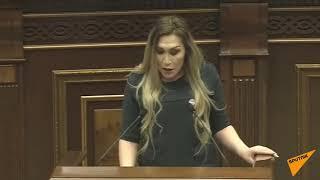 Ermənistan parlamentində transgender qalmaqala səbəb oldu