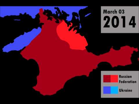 Russian Invasion of the Crimean Peninsula: Every Day