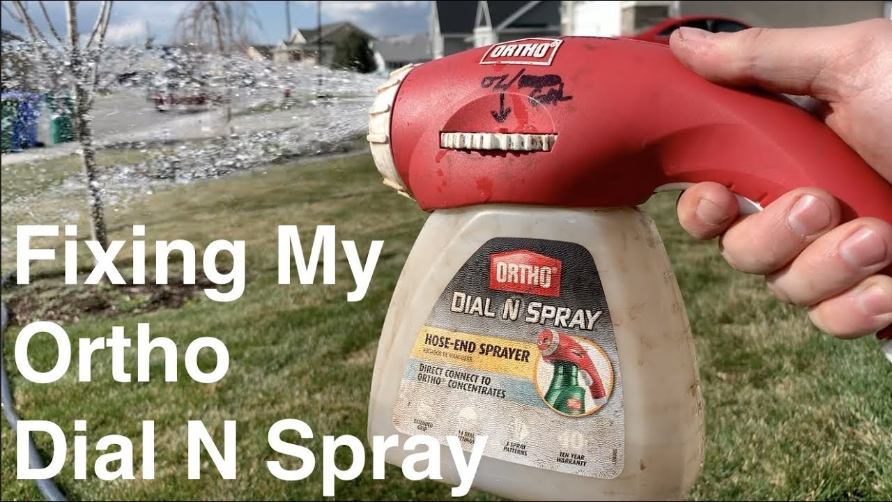 Ortho Dial N Spray Redemption!