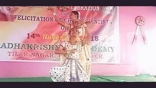 """Kirtan Doxomor Shankar Guru"" A devotional dance by Panki Rani & Annekha Gogoi"