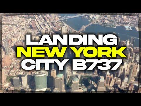Landing At LaGuardia Airport (LGA)- Southwest Airlines (HD) (60FPS)