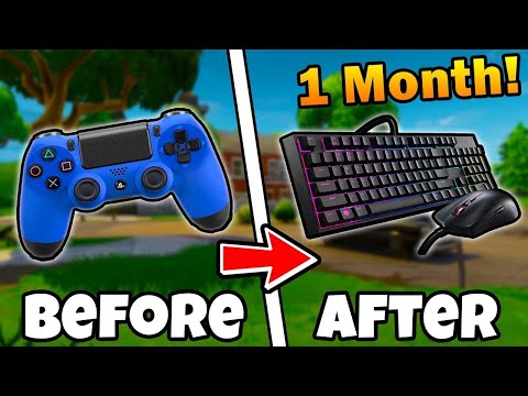BEST Keybinds for Switching to Keyboard and Mouse in Fortnite! (PC SETTINGS /KEYBINDS GUIDE)