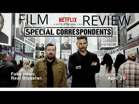 Special Correspondents (2016) Comedy Film Review (Ricky Gervais/Eric Bana)