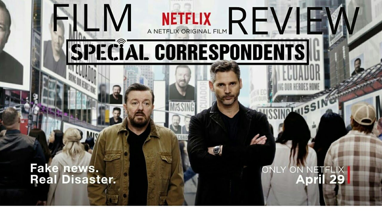 Image result for ricky gervais special correspondents