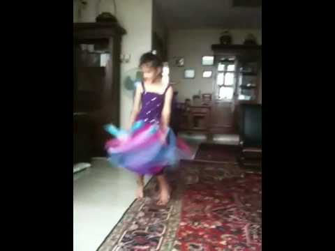 Meera's ballet in Bali dress