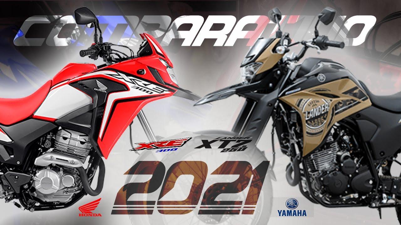 MELHOR MOTO TRAIL 2021 | XRE 300 Vs Lander 250 |  Honda XRE300 ou Yamaha XTZ 250 #xre300 #xtz250