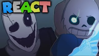 LUIGIKID REACTS TO: [UNDERTALE] ECHO - ANIMATION by Zayn Inverse