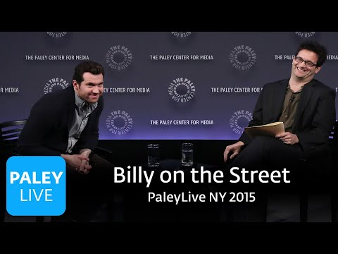 Billy On The Street At PaleyLive NY 2015: Full Conversation