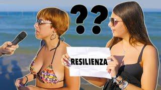 Gli ITALIANI conoscono l'ITALIANO ? Domande al mare - thepillow