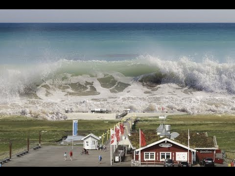 "Breaking: ""Quake Causes Landslide Then Tsunami In Greenland 4 Missing Multiple Casualties"""
