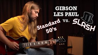 Gibson Les Paul Standard 60's vs. Slash Standard | What's the Difference?