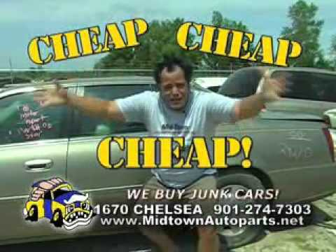 MID-TOWN AUTO PARTS AND SALVAGE - CRAZY JUAN'S GOT PARTS AND COACH LARRY DISSES THE DEBT CEILING.wmv