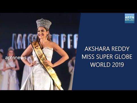 AKSHARA REDDY  WINNER OF  MISS SUPER GLOBE -WORLD 2019||Miss Beautiful Smile||Miss glowing skin