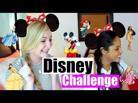 THE DISNEY CHALLENGE w/ Maya Herran
