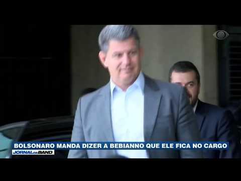 Bolsonaro decide que Bebianno fica no cargo