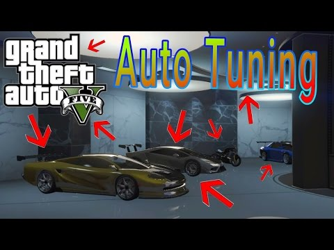 GTA 5 / IMPORT & EXPORT DLC Auto Tuning / by MANGOEIS