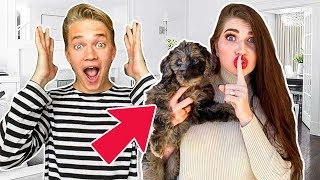 We ADOPTED a PUPPY!!! Big Family Surprise!