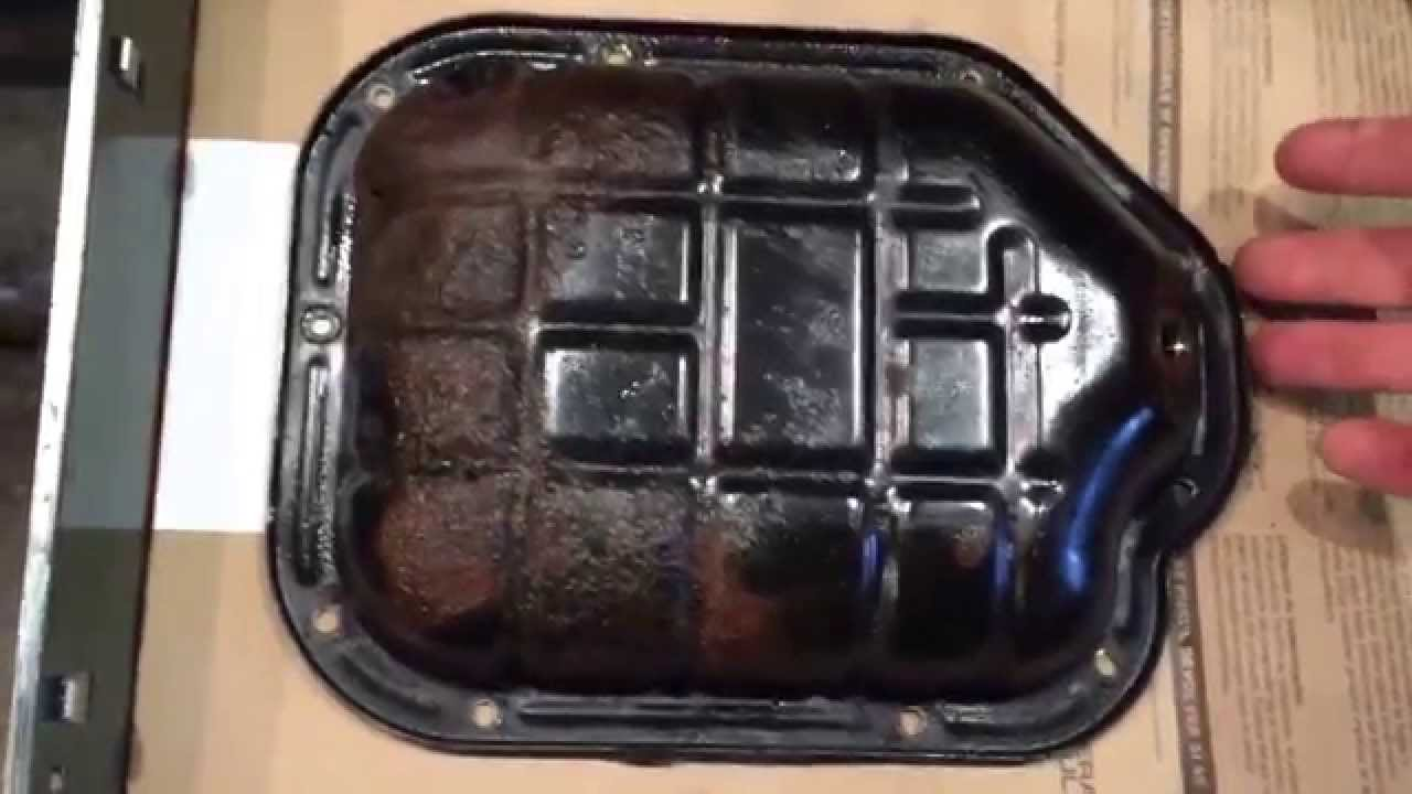 Nissan Murano Oil Pan Replacement Diy Youtube