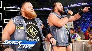 Heavy Machinery vs. local competitors: SmackDown LIVE, June 11, 2019