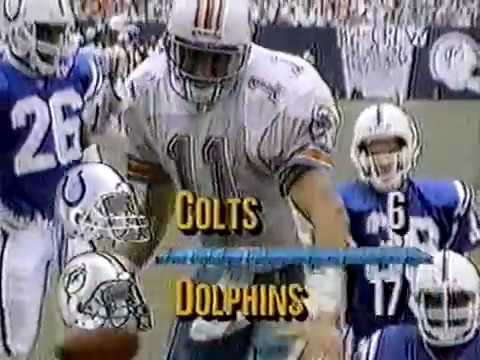 1991 Wk 02 Miami vs Indianapolis Highlights