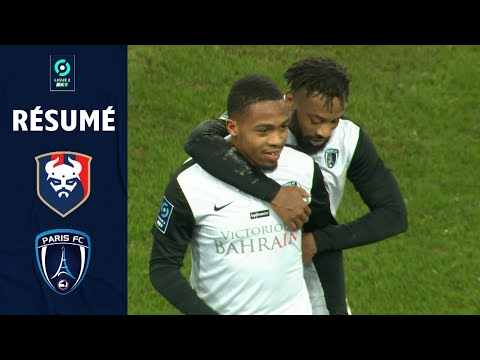 Caen Paris FC Goals And Highlights