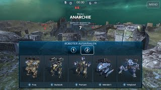 War Robots Testserver 4.2 Thunder and Lock-Down Weapons
