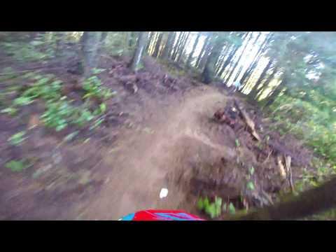 Whiskey Run Mountain Bike Trails. Oregon Coast GoPro
