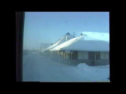 Sudbury to Toronto on VIA #10 -- January 13, 1990